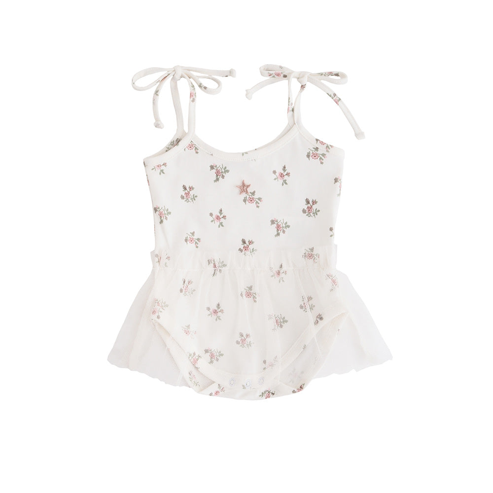 Tocoto Vintage Flower Print Body Tulle - TAYLOR + MAX
