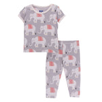 Kickee Pants Feather Indian Elephant Pajama Set - TAYLOR + MAX