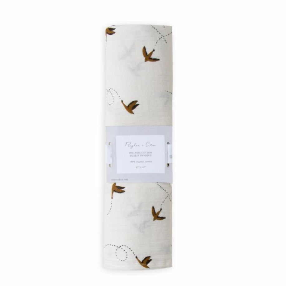 Rylee + Cru Sparrows Swaddle