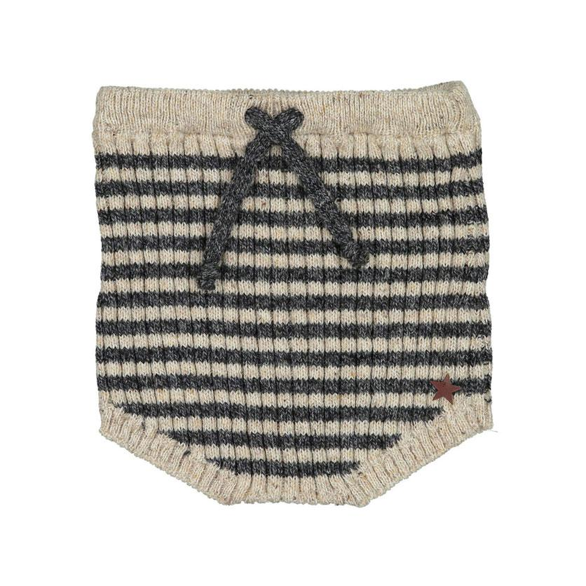 Tocoto Vintage Knitted Striped Bloomer - TAYLOR + MAX