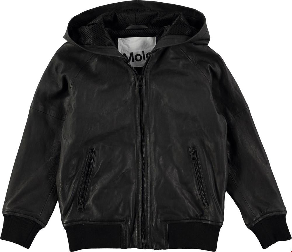 Molo Hector Leather Jacket - TAYLOR + MAX