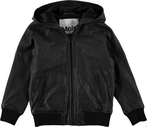 Molo Hector Leather Jacket