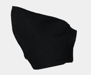 Mini Sibling Black Tricot Cap