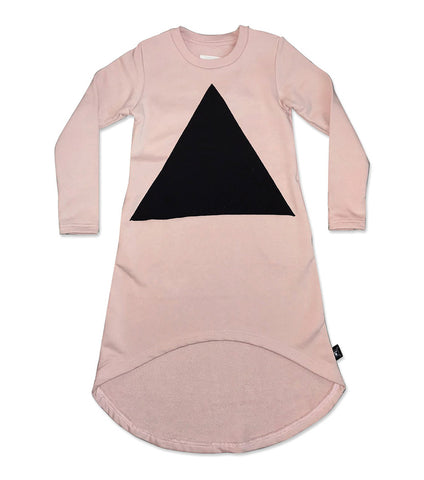NUNUNU Pyramid Dress | Powder Pink