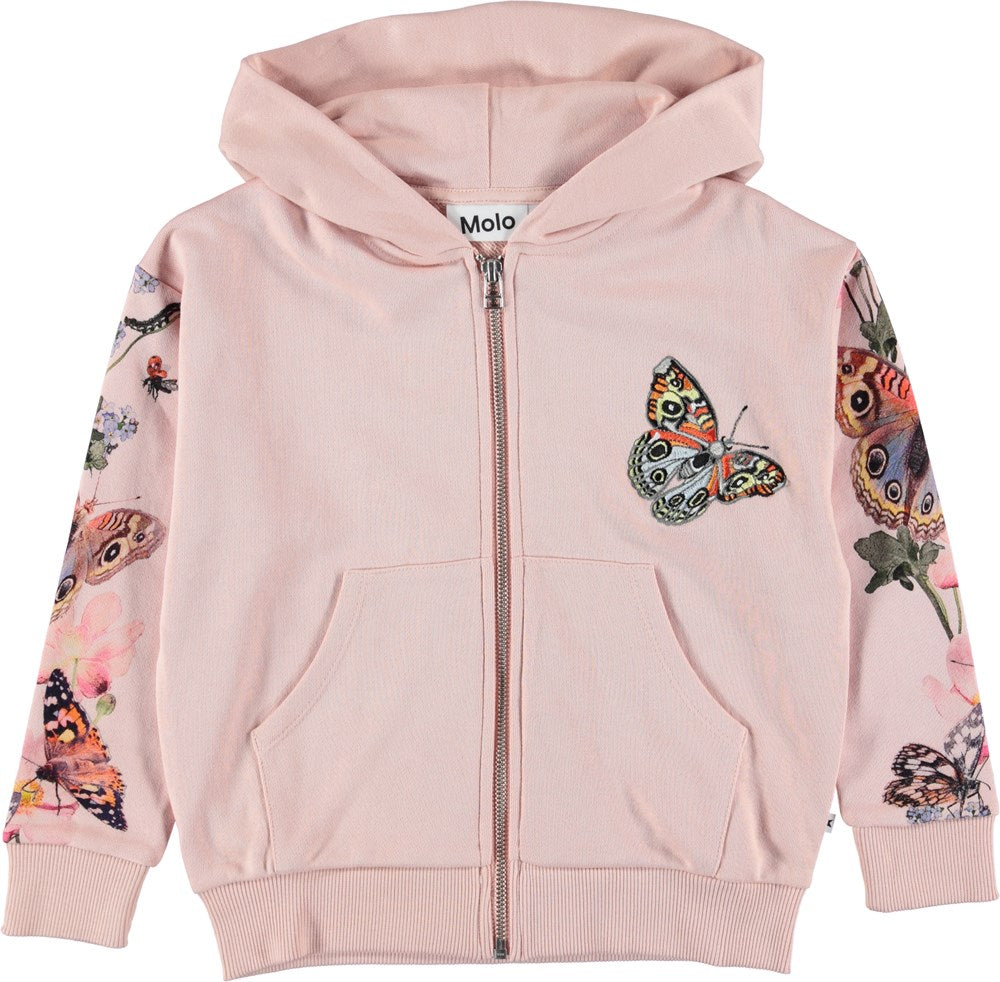 Molo Mel Butterfly Stripe Hoodie | Vans Capsule Collection