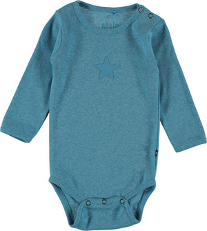 Load image into Gallery viewer, Molo Foss Dive Melange Onesie - TAYLOR + MAX