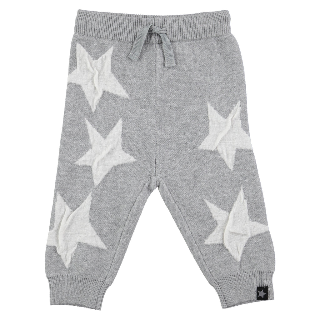 Molo Safira Star Grey Knit Trousers - TAYLOR + MAX