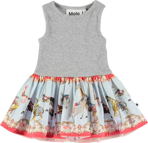Molo Cordelia Carousella Baby Dress