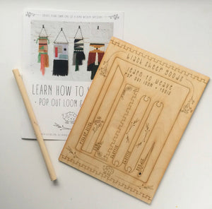 DIY Tapestry Weaving Kit | Honey