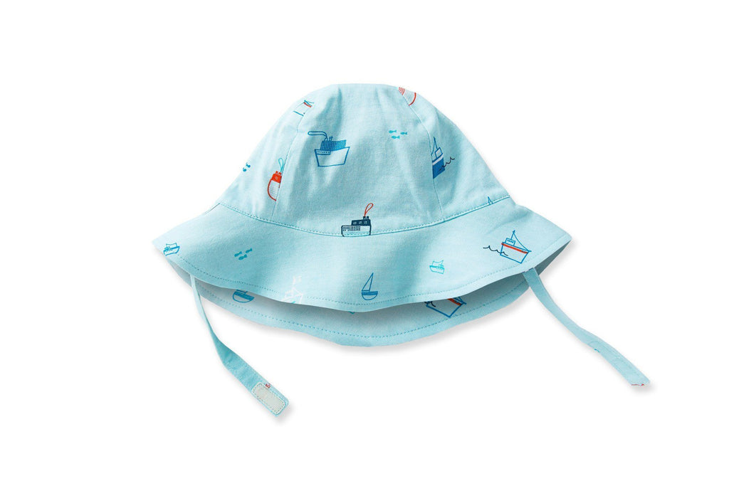 Sailboat Sun Hat - TAYLOR + MAX