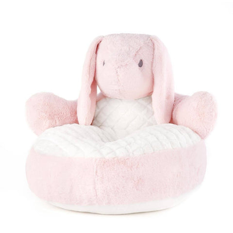 Nat & Jules Pink Bunny Plush Baby Chair