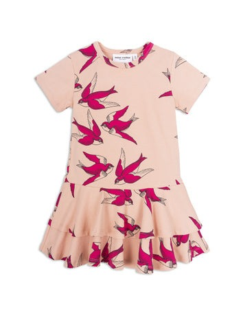 Mini Rodini Swallows Frill Dress