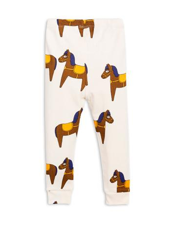 Mini Rodini Yellow Horse Leggings