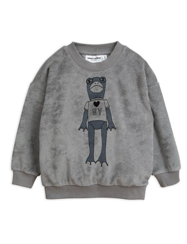 Mini Rodini Frog Terry Sweatshirt