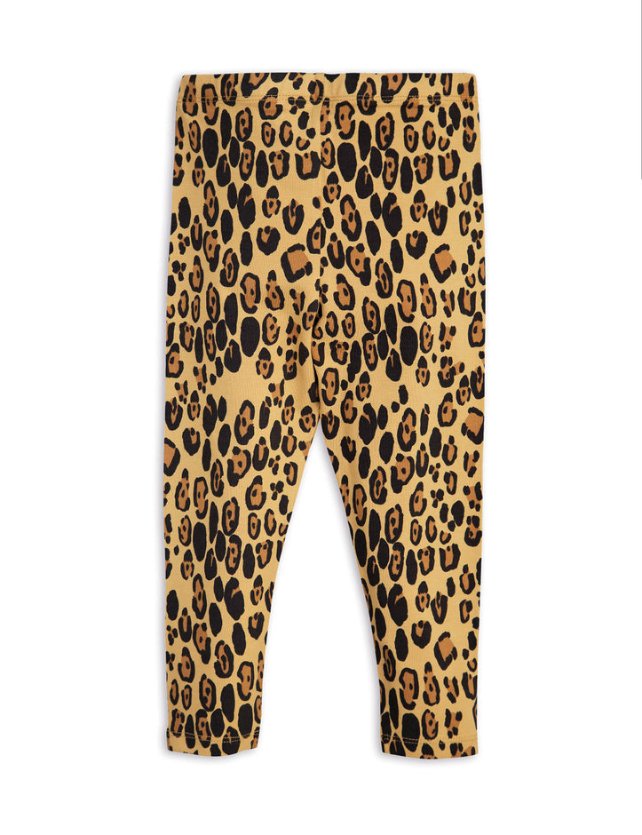 Mini Rodini Leopard Basic Leggings - TAYLOR + MAX