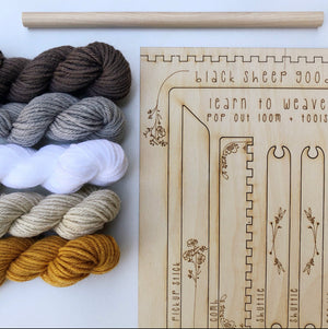 Load image into Gallery viewer, DIY Tapestry Weaving Kit | Honey