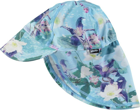 Molo Aquar Flowers Nando Sun Hat