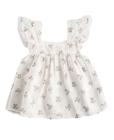 Tocoto Vintage Flowers Baby Dress