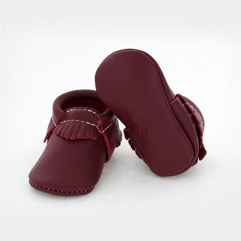 Freshly Picked Burgundy Moccasins