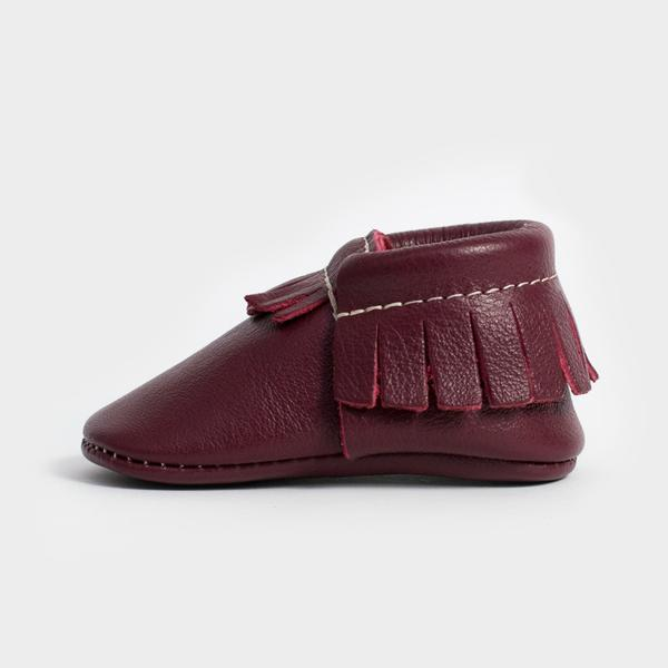 Freshly Picked Burgundy Moccasins - TAYLOR + MAX