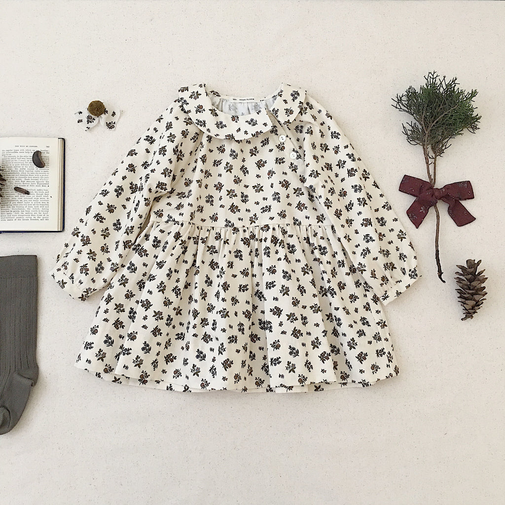 Soor Ploom Faye Dress | Prairie Print Milkweed