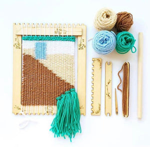 DIY Tapestry Weaving Kit | Orchid