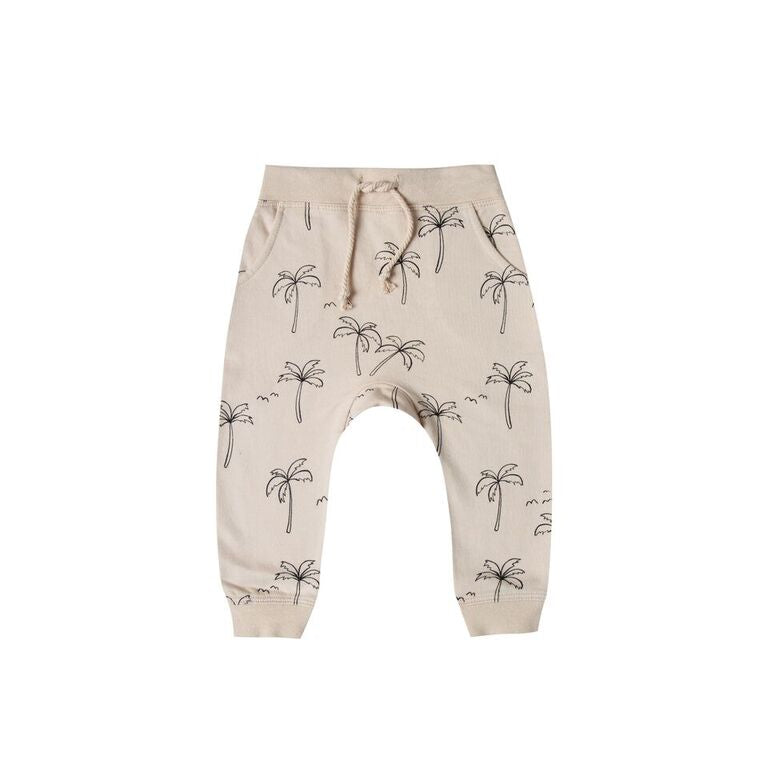 Rylee + Cru Palm Tree Pants - TAYLOR + MAX