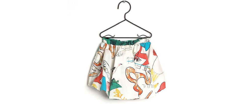 Wolf & Rita Snakes and Ladders Shorts