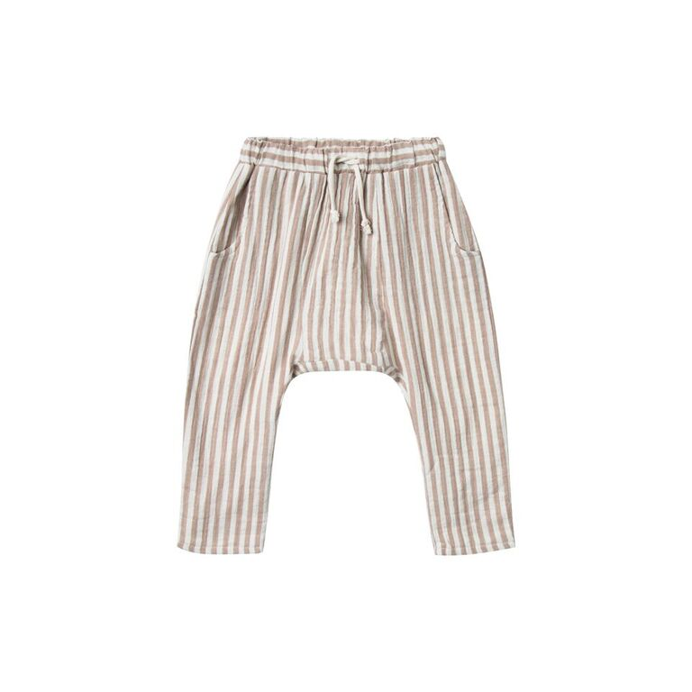 Rylee + Cru Hawthorne Cocoa Stripe Pant - TAYLOR + MAX