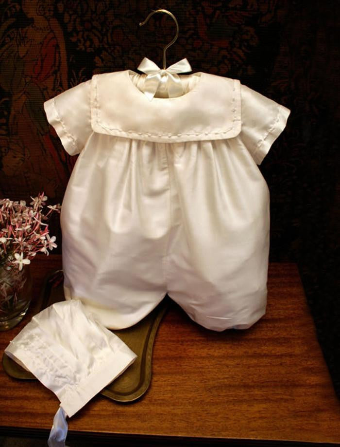 Isabel Garreton Baby's Charming Special Occassion Romper - TAYLOR + MAX