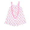 Egg Georgia Peaches Romper - TAYLOR + MAX