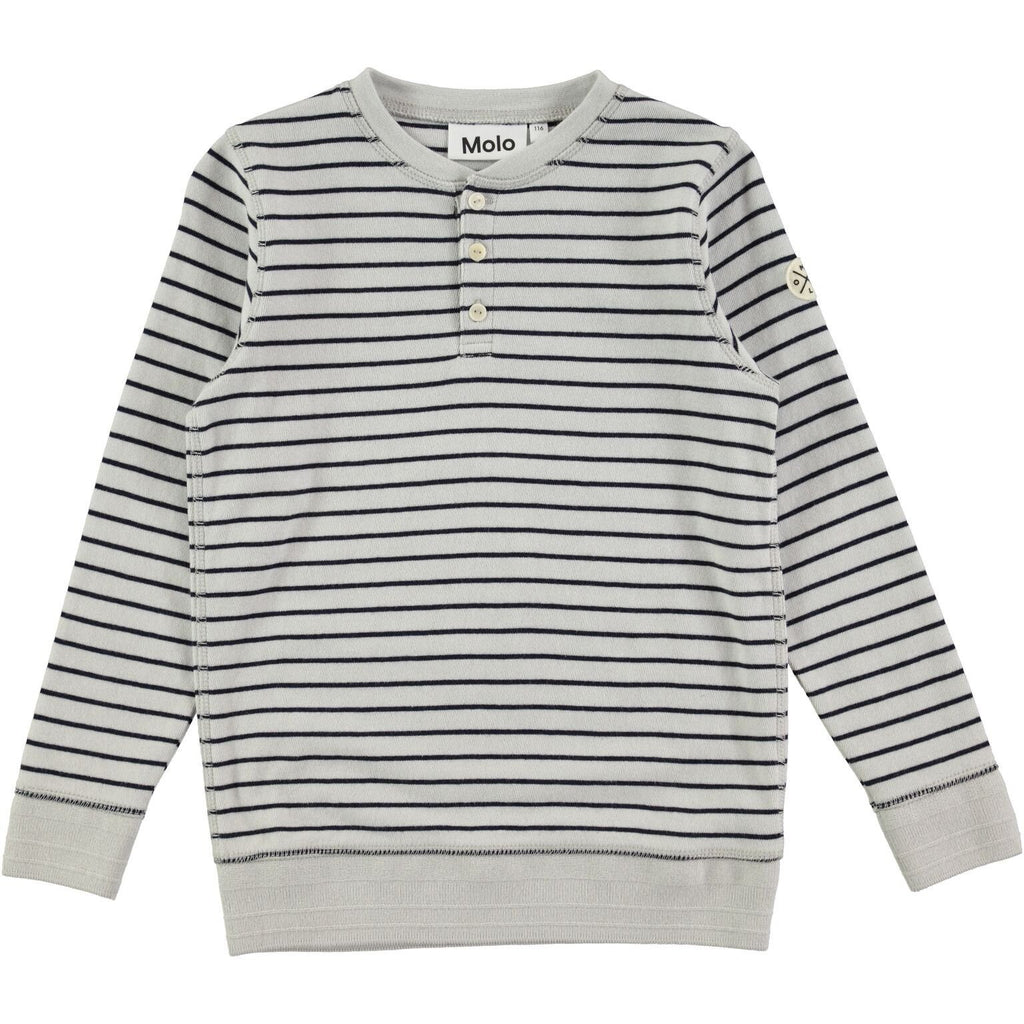 Molo Reginald Stripe Shirt - TAYLOR + MAX