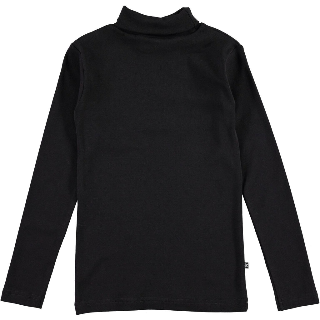 Molo Ripia Black Turtleneck - TAYLOR + MAX