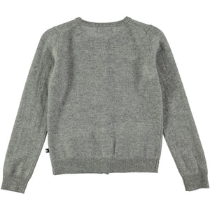 Load image into Gallery viewer, Molo Grey Glory Cardigan - TAYLOR + MAX