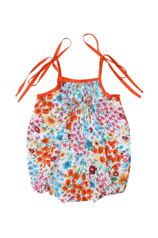Coco and Ginger Petal Baby Sunsuit