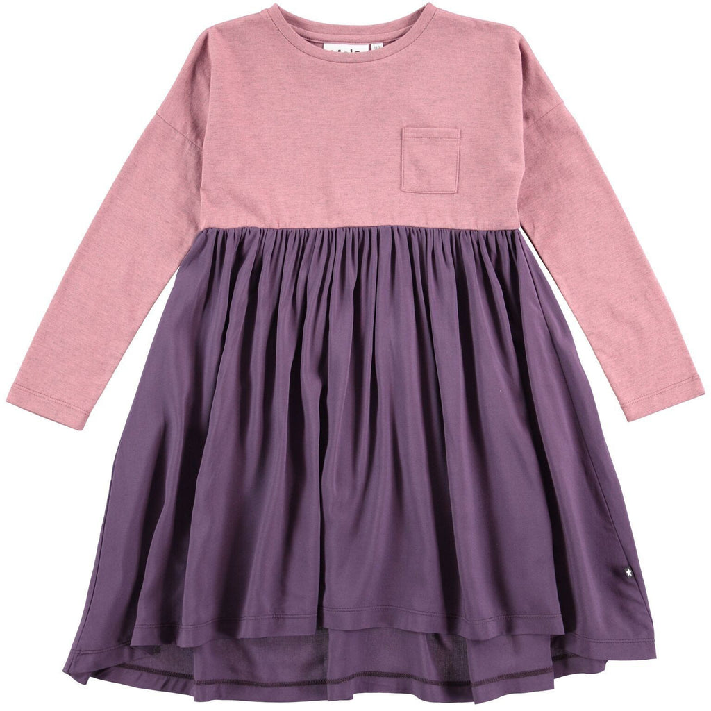 Molo Purple Calla Dress - TAYLOR + MAX