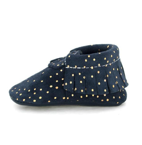 Freshly Picked Navy Confetti Moccasin