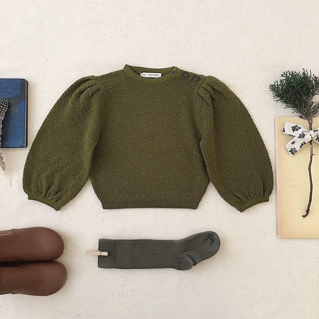 Soor Ploom Agnes Sweater | Moss
