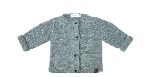 Load image into Gallery viewer, Tocoto Vintage Links Cardigan - Seafoam - TAYLOR + MAX