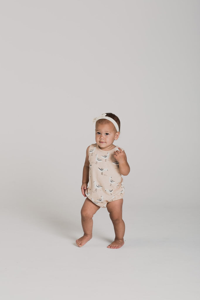 Rylee + Cru Seagulls Bubble Onesie - TAYLOR + MAX