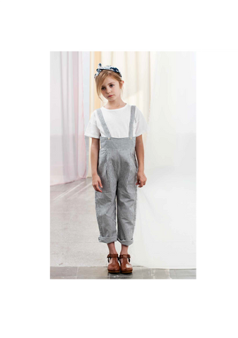 Tocoto Vintage Striped Dungaree