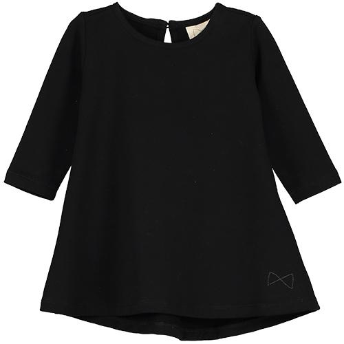 Mini Sibling Black Dress - TAYLOR + MAX