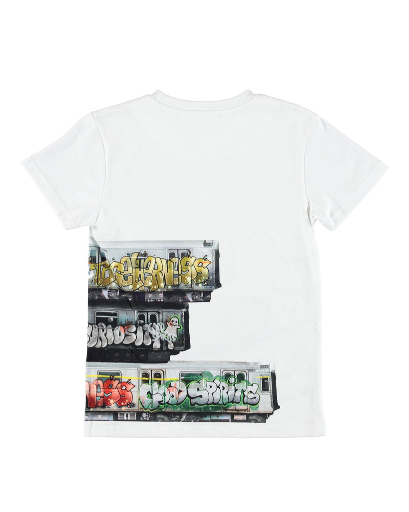 Molo Raven T-Shirt Subway Stripe