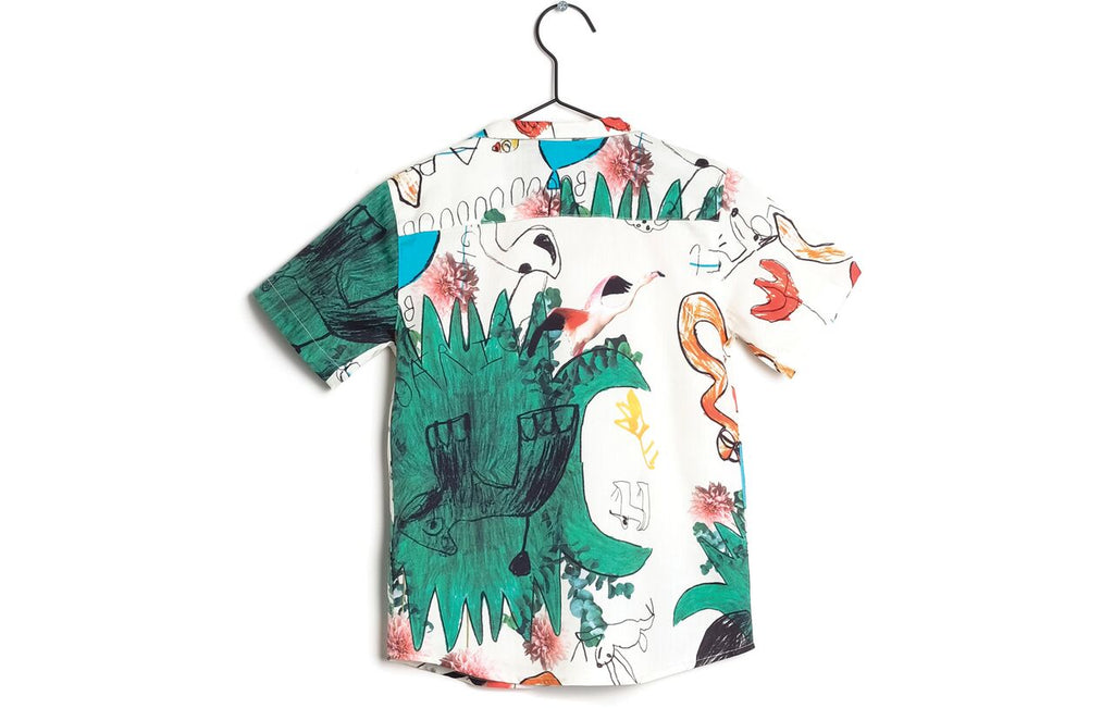 Wolf & Rita Bruno Snakes and Ladder Shirt