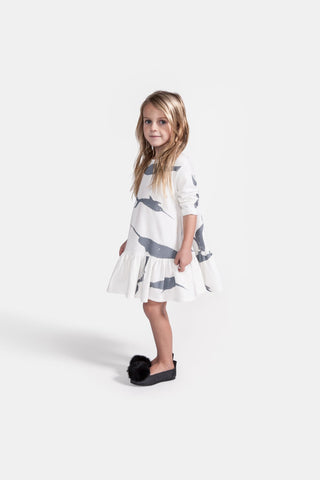 Omamimini Baby Narwhal Dress