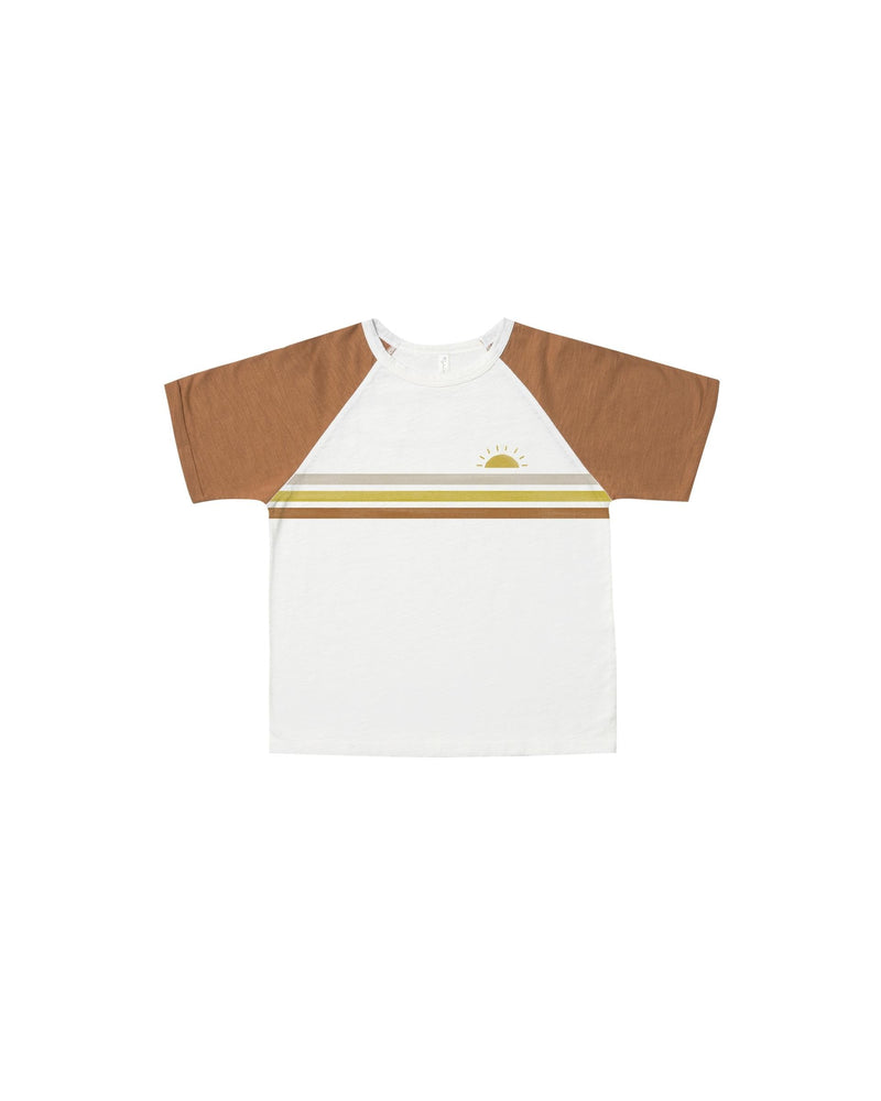 Load image into Gallery viewer, Rylee + Cru Stripe Raglan Tee - TAYLOR + MAX