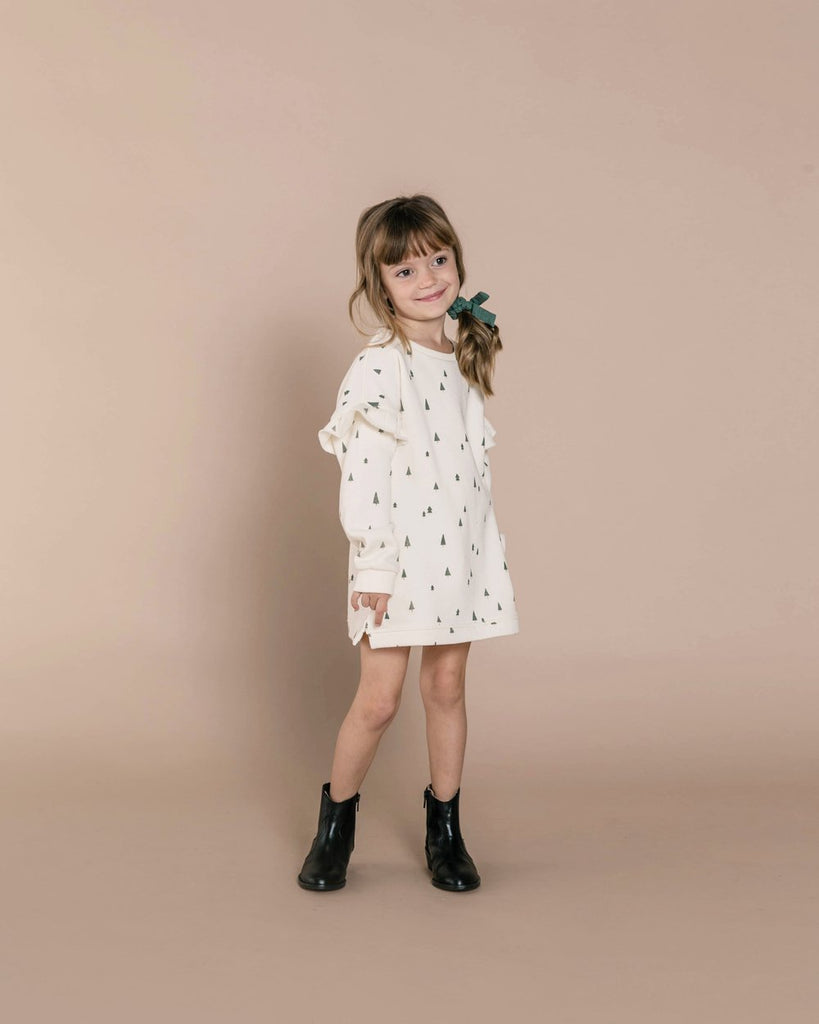 Rylee + Cru Trees Sweatshirt Dress