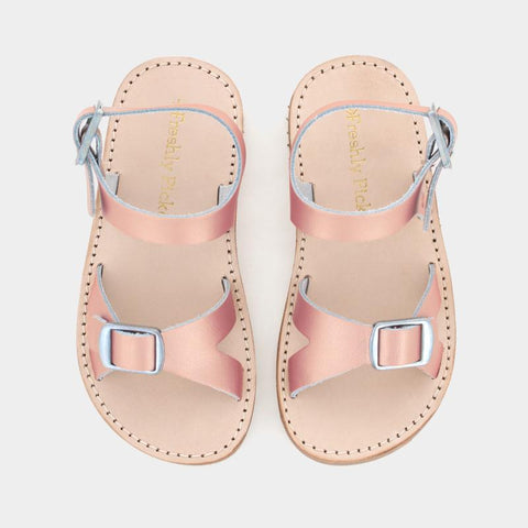 Freshly Picked Carmel Sandal- Rose Gold