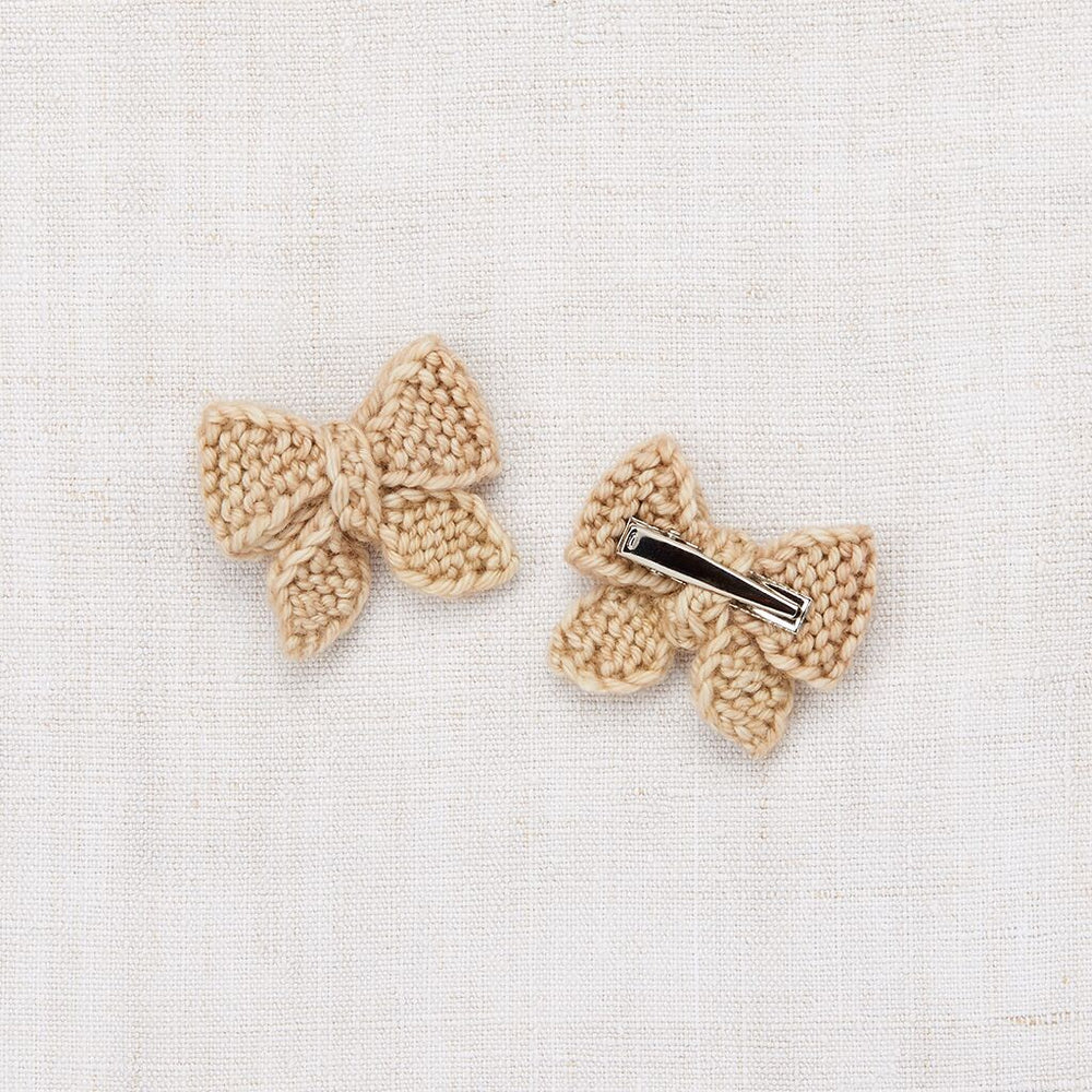 Baby Puff Bow Set | Alabaster - TAYLOR + MAX