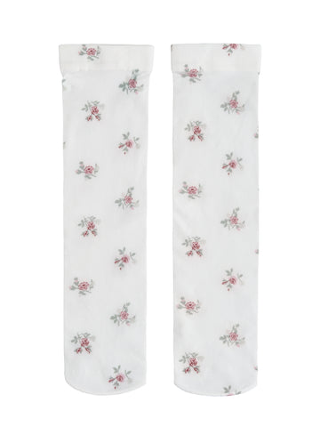 Tocoto Vintage Flower Long Socks